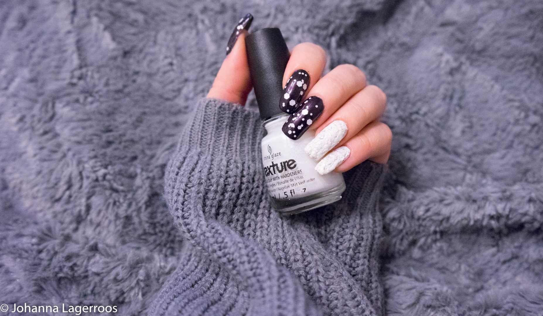 china glaze snow mani