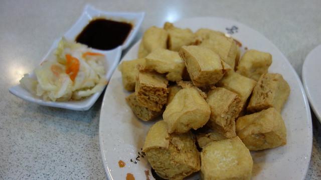 炸臭豆腐(小,NTD$100)@深坑廟口豆腐/廟前阿家的店