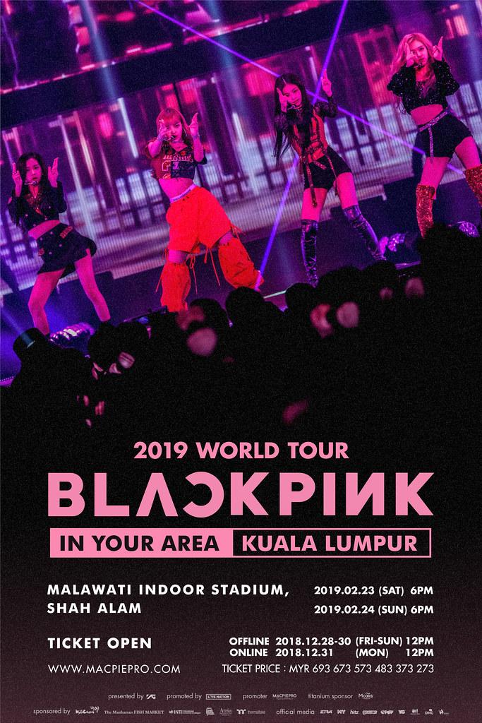 KONSERT BLACKPINK 2019 WORLD TOUR