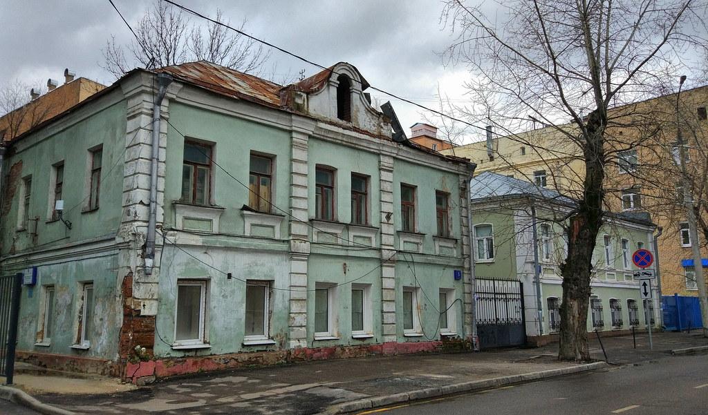 Старый дом. Москва