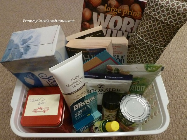 Post Op Basket at FromMyCarolinaHome.com