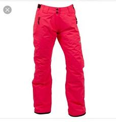 Lyžařské kalhoty NordBlanc ohnivý korál 1 x použit - titulní fotka