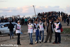 Great March of Return Protest, Gaza Strip, 18.1.2019