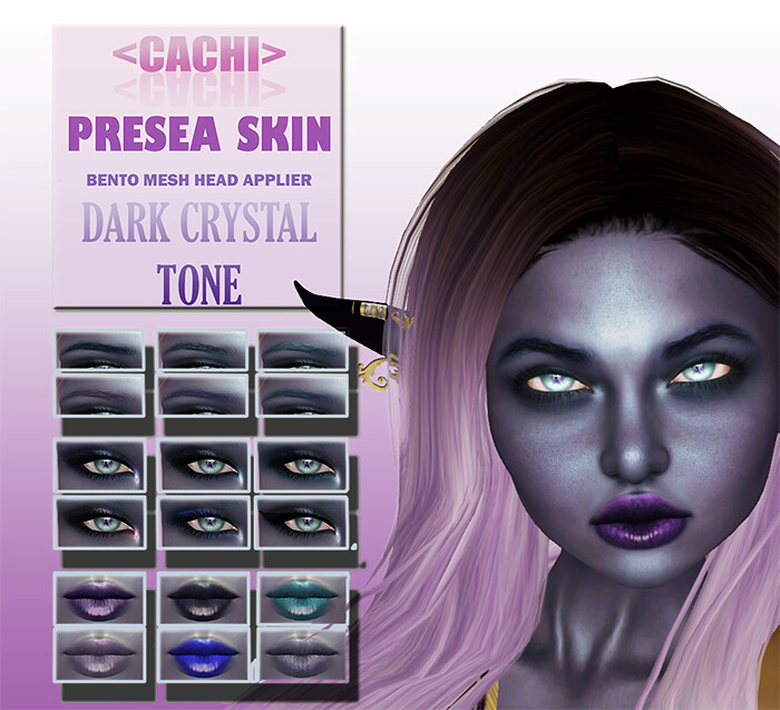 <cachi> Presea Skin – Makeup Included