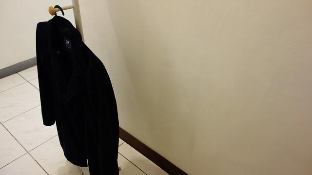 掛我自己的長外套也不會拖地@立格扉星空衣帽架