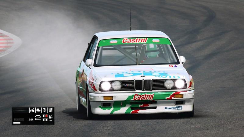 RaceRoom Flat spots