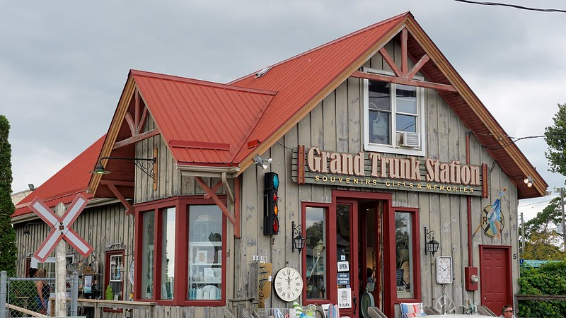 Grand Trunk Era Station is now a souvenir shop