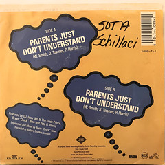 D.J. JAZZY JEFF & THE FRESH PRINCE:PARENTS JUST DON'T UNDERSTAND(JACKET B)