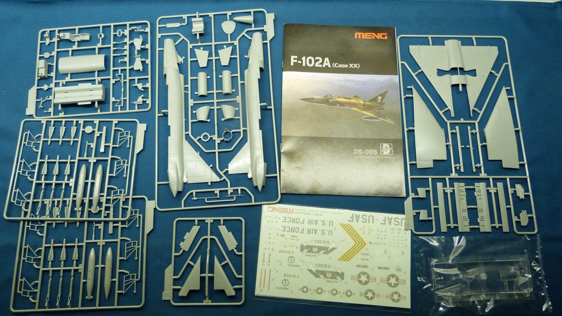 Meng Deltavingar, F-102 och F-106, 1/72 30942516097_05eea3f5c2_o