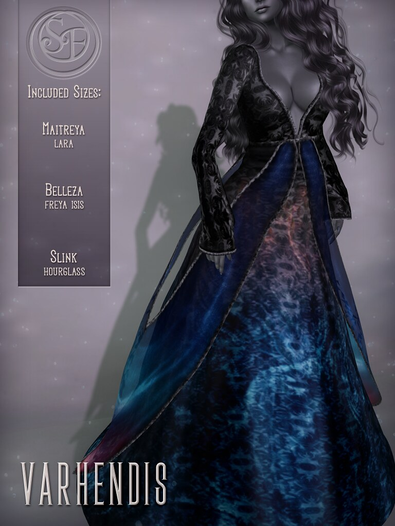 Senzafine . Varhendis Gown Poster
