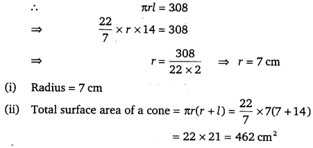 NCERT Solutions for Class 9 Maths Chapter 13 Surface Area and Volumes 10