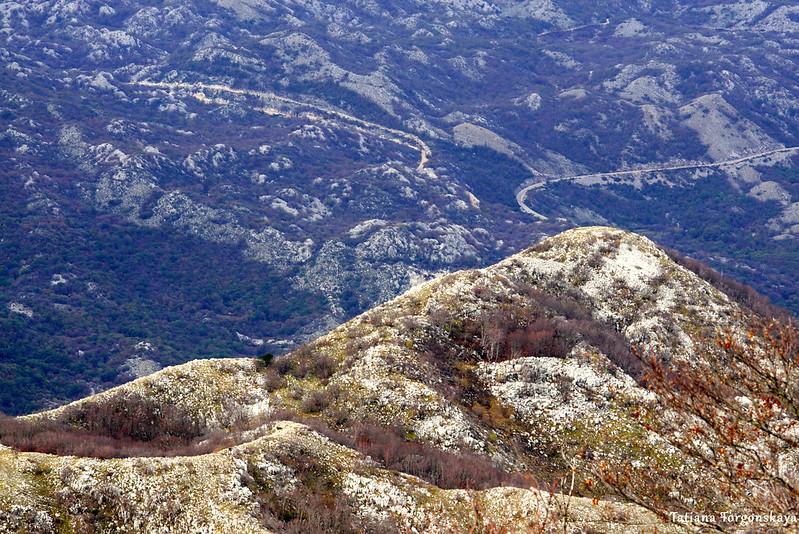 Горный пейзаж с Одиево