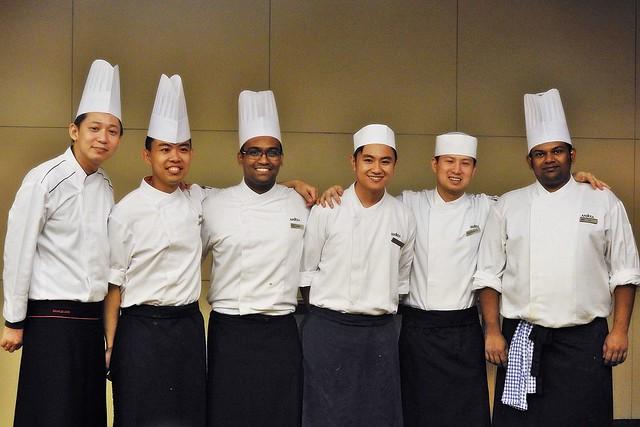 Chef Charles Goh, Chef Jason & Team