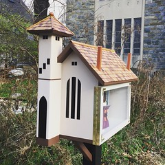 The cutest little free library