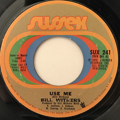 BILL WITHERS:USE ME(LABEL SIDE-A)