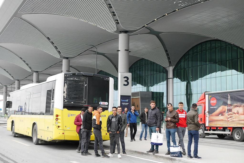 伊斯坦堡新机场-公车站牌