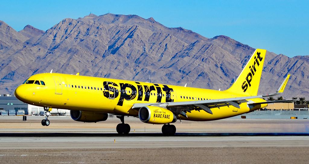 N684NK Spirit Airlines Airbus A321-231 s/n 8047