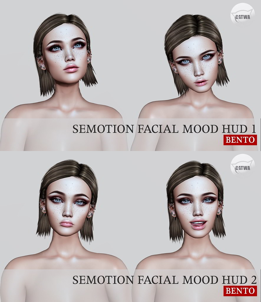 SEmotion Facial Mood HUD Set 1 & 2 @ Collabor88 - TeleportHub.com Live!
