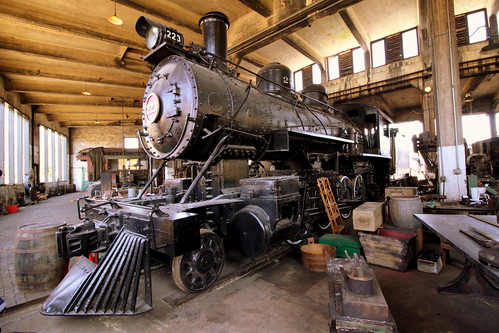Central of Georgia #223 Steam Locomotive
