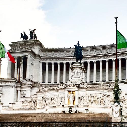 Roma: vista del Vittoriano