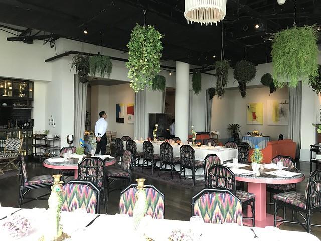 Manila House Private Club, dining hall