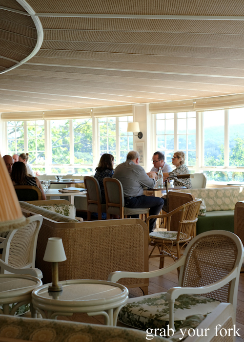 Curved room with views at Bert's in Newport by Merivale