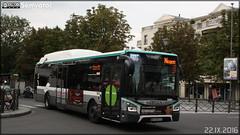 Iveco Bus Urbanway 12 Hybride - RATP (Régie Autonome des Transports Parisiens) / STIF (Syndicat des Transports d'Île-de-France) n°5989