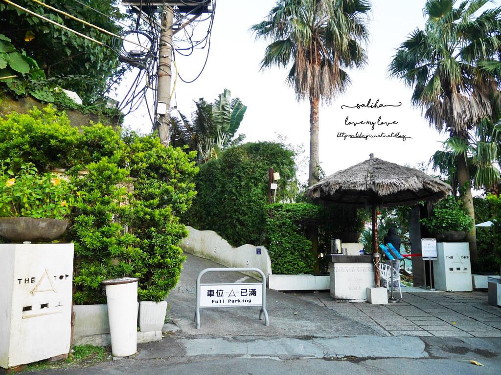 台北陽明山文化大學THETOP屋頂上夜景餐廳白天景色超浪漫情人節推薦大餐景觀餐廳 (1)
