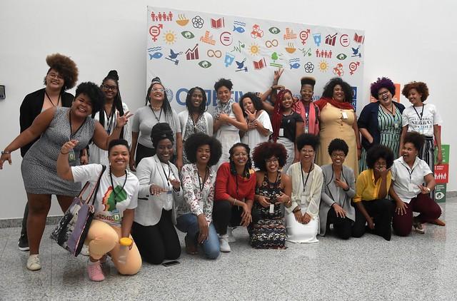 Articulação de Negras Jovens Feministas na Casa da ONU