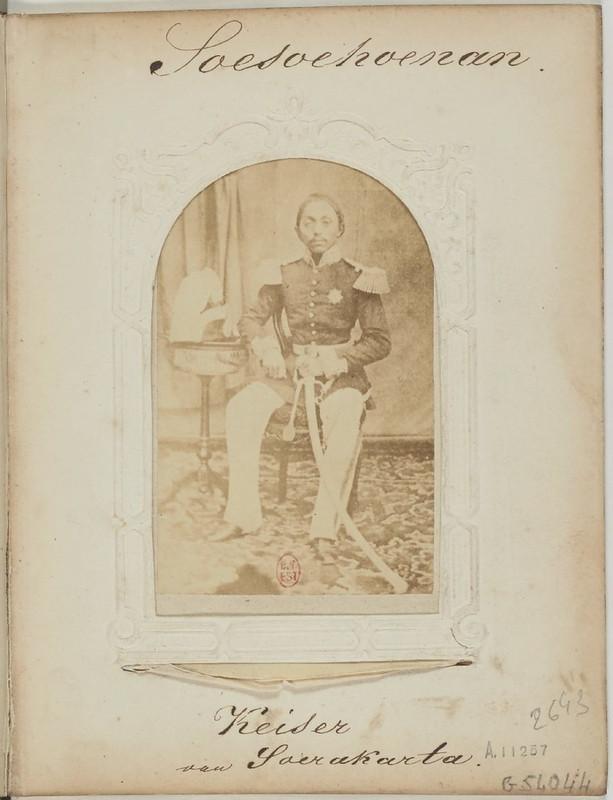 1865. Представители яванских княжеских семей на фотографиях Саймона Вилле Камерика