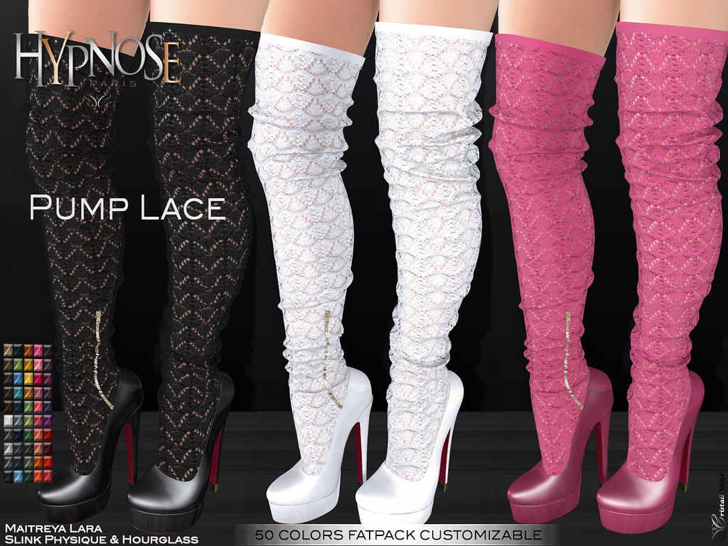 BLACK FRIDAY SALES 50% > HYPNOSE – PUMP LACE