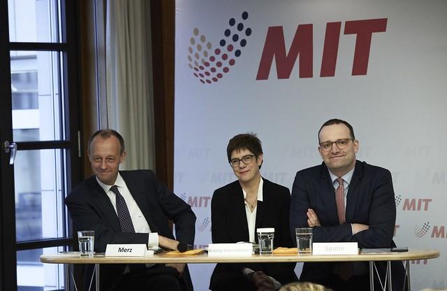 Vorstellung der drei Kandidaten für den CDU-Vorsitz im MIT-Bundesvorstand