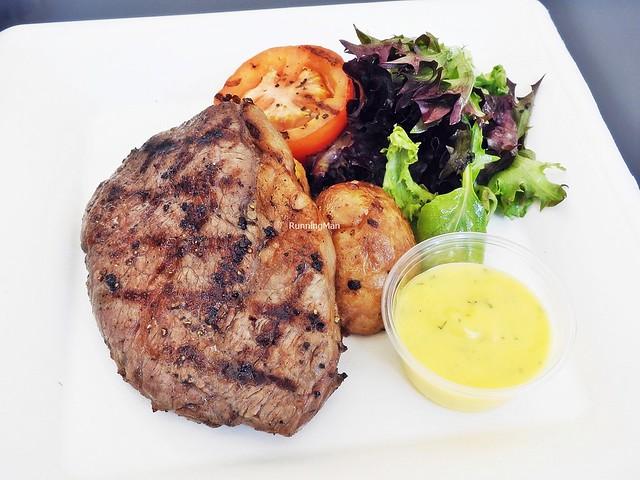 Grilled Australian Grass Fed Beef Striploin, Bearnaise Sauce