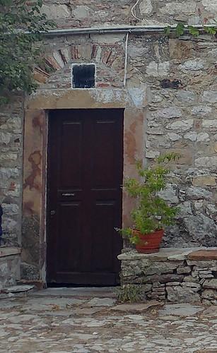 Door @ Nea Moni, Chios
