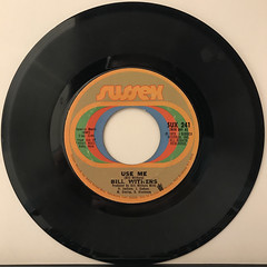 BILL WITHERS:USE ME(RECORD SIDE-A)