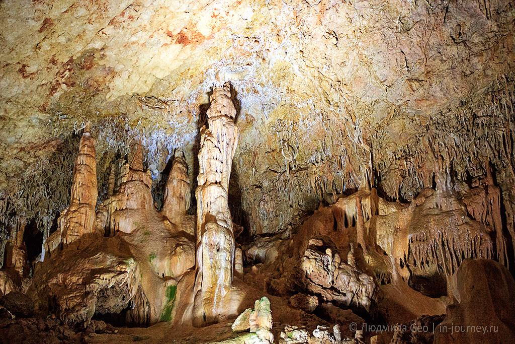 Интересные пещеры Крыма: Мраморная