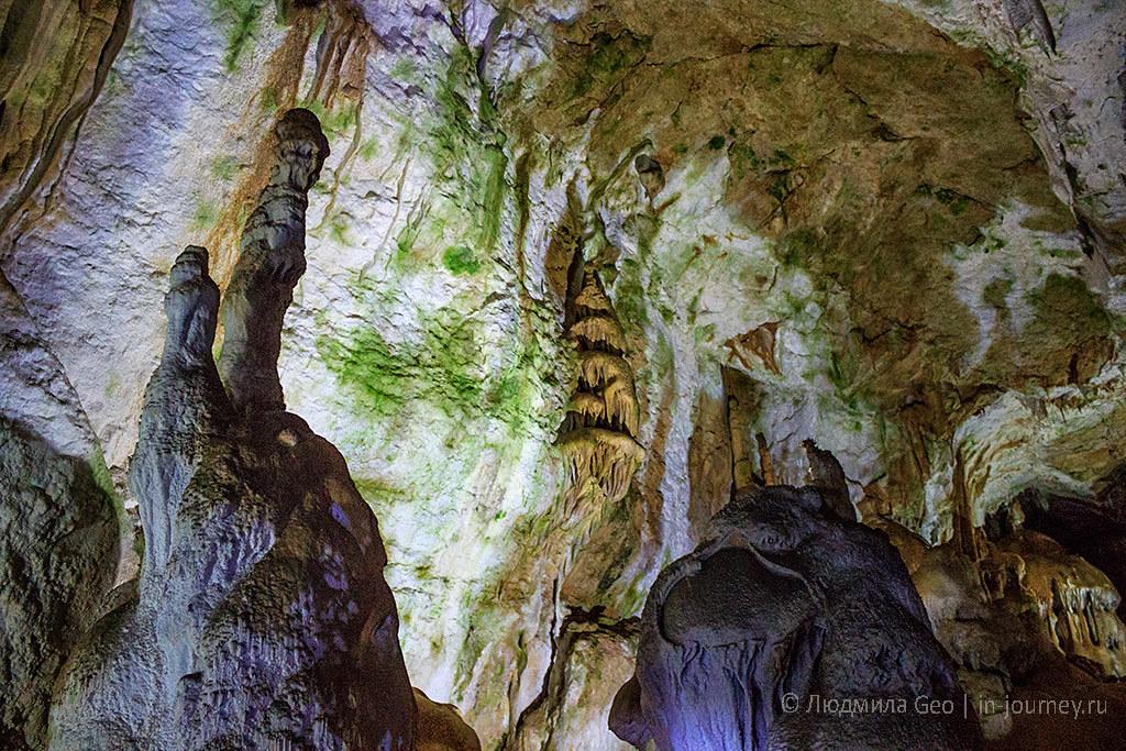 Мраморная пещера отзыв о посещении