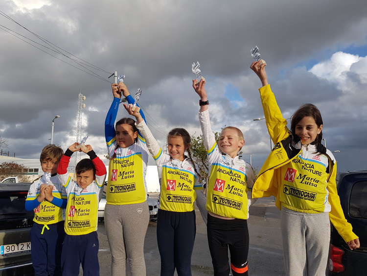 Ciclismo: Finaliza la temporada 2018 para el Andalucía Nature