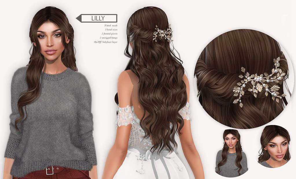 doux – lilly hair for equal10