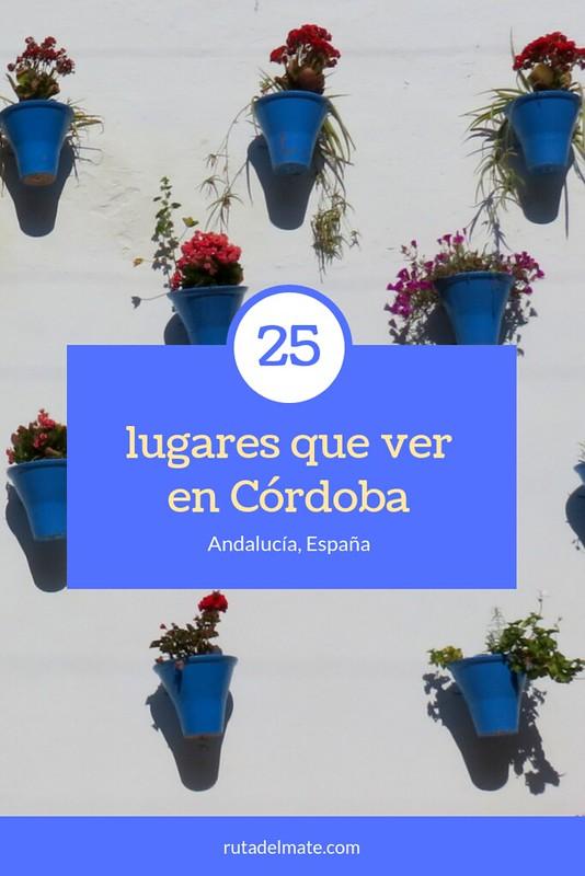 25 lugares que ver en Córdoba