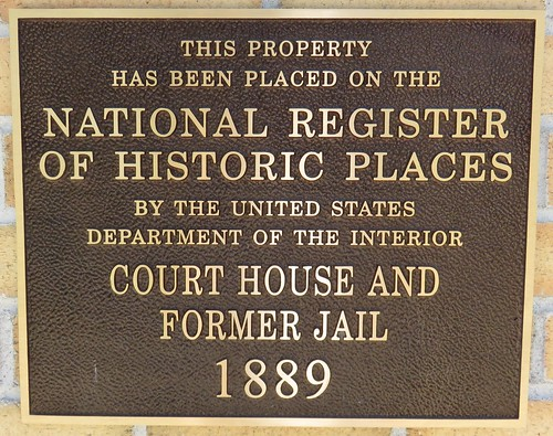 Florence County Courthouse Plaque (Florence, Wisconsin)