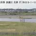 多摩川石原水位観測所ライブカメラ画像. 2018/11/18 10:16