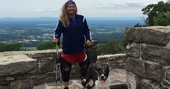This Hiker Isn't Letting Anything Get In The Way Of Accomplishing Her Life-Long Goal