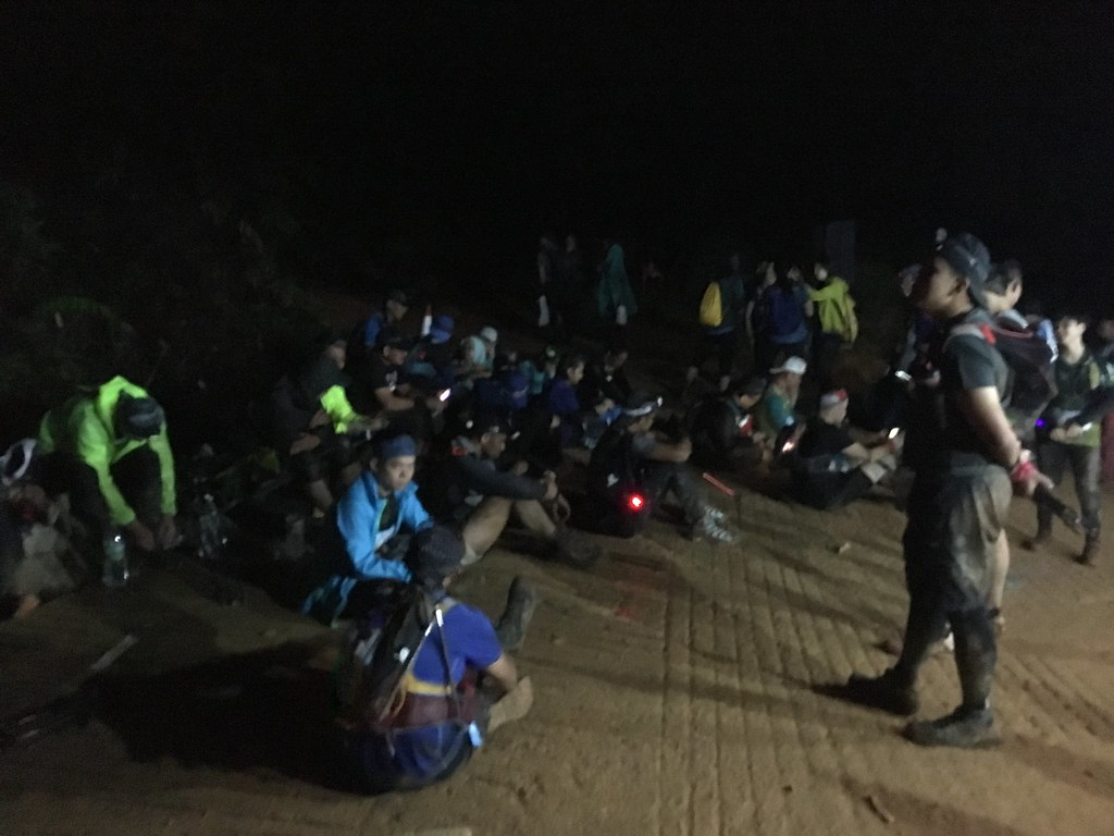 MMTF 2018: CP2 runners waiting