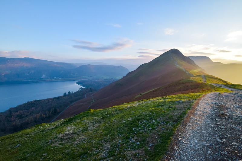 Borrowdale walk Lake District - Catbells Fell