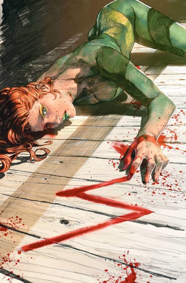 Heroes In Crisis #7 Poison Ivy Cover - DuWDn--XgAA2MCR