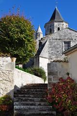 Eglise romane Saint Martin, Arces, Saintonge, Charente-Maritime, Nouvelle-Aquitaine. - Photo of Grézac