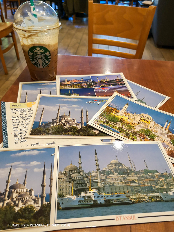 2018 Turkey Istanbul Postcards