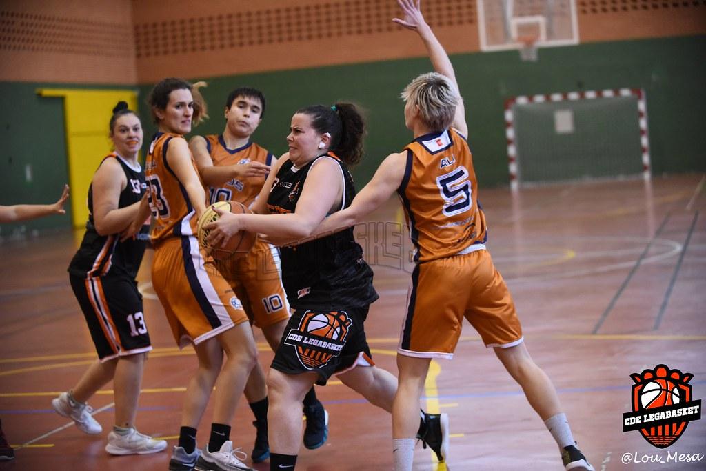 16/12/2018.- Autonómica Femenino vs Basket Holos