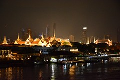 View on the Grand Palace (Bangkok, Thailand 2018)
